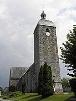 L'église paroissiale Notre-Dame d'Aucey-la-Plaine.