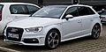 Audi A3 Sportback S-line (8V) – Frontansicht, 21. Dezember 2014, Düsseldorf.jpg