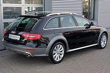 Audi A4 B8 Facelift allroad quattro 2.0 TFSI S tronic Phantomschwarz Heck.JPG