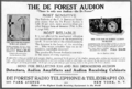 Audion vacuum tube advertisement.png