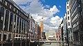 Aufnahme von der Bleichenbrücke aus in Richtung alte Post in Hamburg - panoramio.jpg