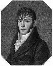 August Schumann (Kupferstich: Friedrich Fleischmann, nach dem Porträt von Gotthelf Leberecht Glaeser von 1810) (Quelle: Wikimedia)