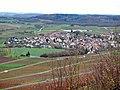 Ausblick von der Berggaststätte auf dem Wunnensteinberg - panoramio (1).jpg