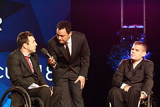 Australia national wheelchair rugby team - Team co-captains - Cameron Carr and Ryan Scott -  interviewed after winning 2012 Team of the Year at the Australian Paralympian of the Year ceremony