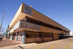 ABC Western Plains - Image: Australian Broadcasting Corporation building in Dubbo