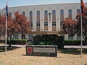 Australian Catholic University - Australian Catholic University Signadou Campus in the Canberra suburb of Watson.