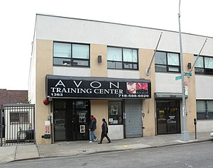 Avon Products - An Avon training center in the Bronx