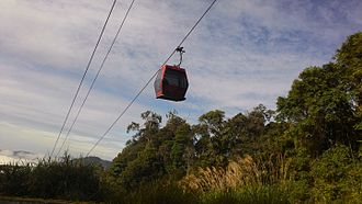Awana Skyway - One of the new gondola units of Awana Skyway since its re-opening on August 2016.