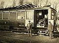 Az aradi Weitzer János gépgyár benzinüzemű motorkocsija az Arad és Csanádi Egyesült Vasutak (ACsEV) vonalán. Fortepan 30119.jpg