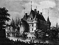 Azay-le-rideau chateau XIX sec.jpg