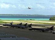 B-1 Bombers on Diego Garcia