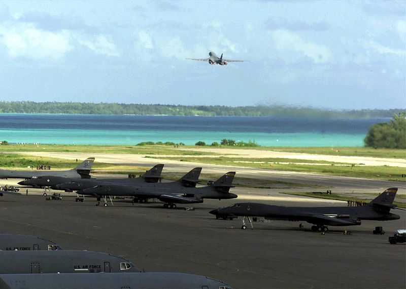 File:B-1 Bombers on Diego Garcia.jpg