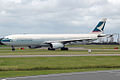 B-HLI Airbus A330-342 Cathay Pacific 'HKSAR 10th Anniversary' (8751073741).jpg