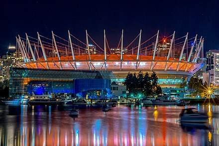 Exterior view of the stadium after its renovation, November 2014 BC Place Stadium - panoramio.jpg