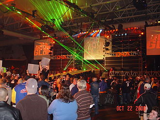 Bound for Glory (wrestling pay-per-view) - The 2006 set for Bound for Glory