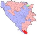 BH municipality location Trebinje.png