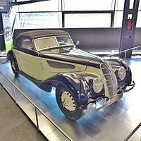 BMW 327-28, Erfolgsgeschichte des Automobils & Motorradausstellung, 2014 (02).JPG