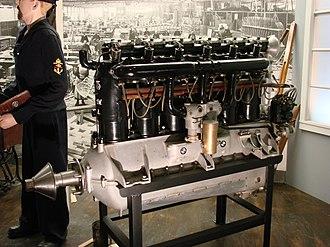 BMW IIIa - Preserved BMW IIIa, shown with quick-change propeller hub