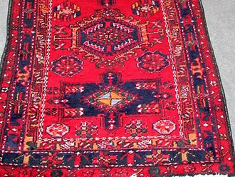 Ahar - Balan Rug; An example of carpets which used to be sold in Ahar's bazar.