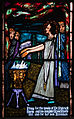 Ballinasloe St. Michael's Church South Aisle Fifth Window Sts Patrick and Rose of Lima by Harry Clarke Detail St Rose Burning Her Hands 2010 09 15.jpg