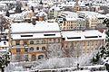 Bamberg, Untere Sandstraße 30 a, Ansicht vom Kloster Michelsberg-20170102-001.jpg
