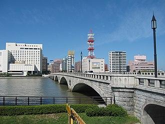 Hokuriku region - Image: Bandaibashi Bridge 20130929