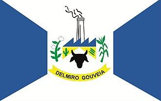 Delmiro Gouveia - Image: Bandeira de Delmiro Gouveia