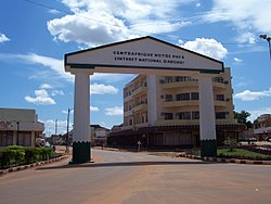 Bangui, the capital of the Central African Republic.
