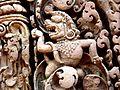 Banteay Srei - 028 Lion (8581486115).jpg