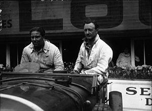 1929 24 Hours of Le Mans - Winners Woolf Barnato and Henry Birkin