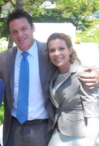 Robyn Lively - Robyn Lively and her husband Bart Johnson in 2011