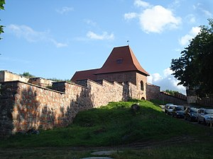 History of Vilnius - Remaining Wall of Vilnius fragment