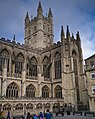 Bath Abbey from the Roman Baths - panoramio.jpg