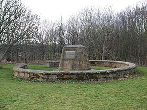 Battle of Roslin - Battle of Roslin memorial