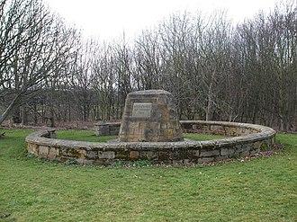 Battle of Roslin - Battle of Roslin memorial