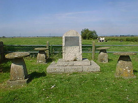 Battle of Sedgemoor memorial Battle of Sedgemoor Memorial.jpg