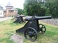 Baturyn - Fortress gun.JPG