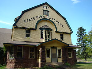 National Register of Historic Places listings in Bayfield County, Wisconsin - Image: Bayfield Fish Hatchery 1
