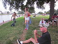 Bayou St John 4th of July NOLA 2012 Dancers and Flute.JPG