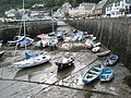 Beached boats in Lynmouth Harbour - geograph.org.uk - 938552.jpg