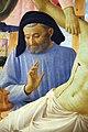 Beato angelico, pala strozzi della deposizione, con cuspidi e predella di lorenzo monaco, 10,1.JPG