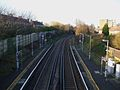 Beckenham Hill stn high northbound.JPG