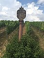 Beckstein Kleindenkmal 02 Barocker Bildstock mit dem Walldürner Blutbild.jpg