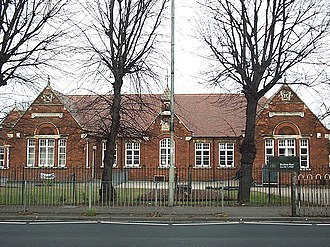 School boards in England and Wales - A board school in Kempston, Bedfordshire