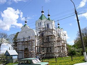 Beshankovichy - Image: Belarus Beshankovichy Church of Prophet Elijah 5