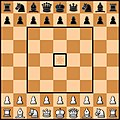 Belarusian chess board with classical images of pieces.jpg