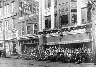 Belk - Belk Bros. store in Charlotte, North Carolina around 1910.