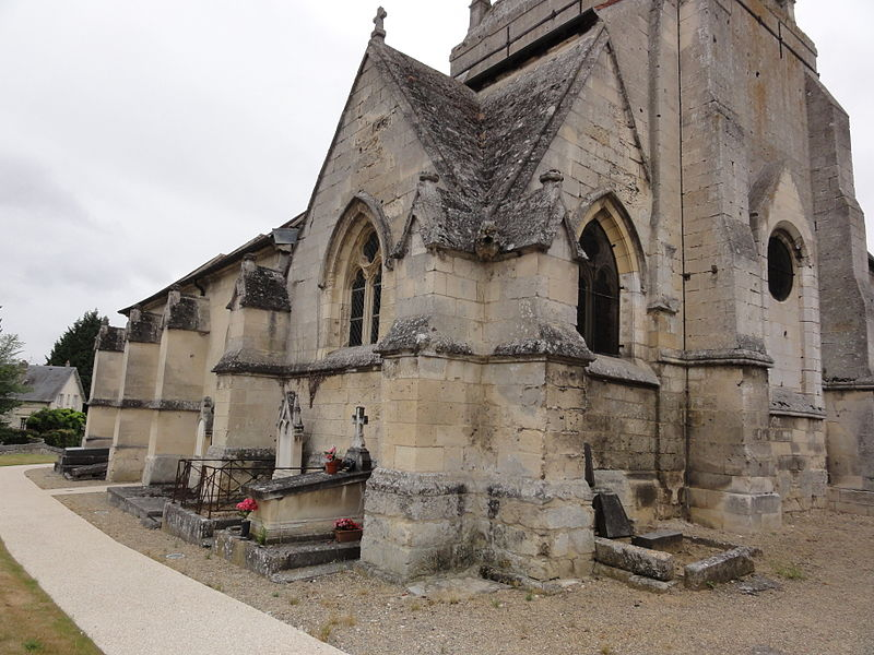 Belleu (Aisne) église