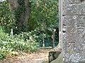 Bench Mark on All Saints church at Little Casterton - geograph.org.uk - 1496439.jpg