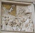 Benedetto da Maiano, pulpito di s. croce 08 miracolo di san francesco.JPG
